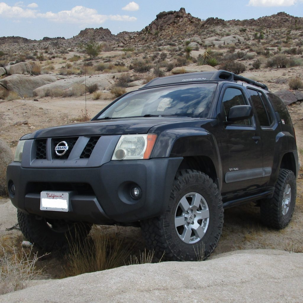 Xterra Off Road >> Nissan Xterra 2005-2015 Rock Sliders - White Knuckle Off Road Products