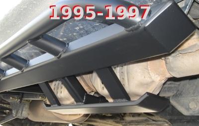 Toyota 80 Series Land Cruiser Lexus Lx450 Rock Sliders