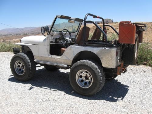 Jeep CJ5 ... & Jeep CJ5 1976-1983 Rock Sliders - White Knuckle Off Road Products