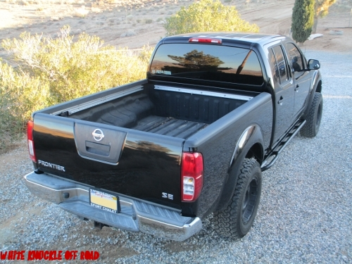 Nissan Frontier Long Bed 2005 Newer Rock Sliders White Knuckle Off