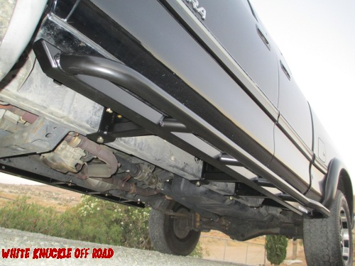 Toyota Tundra 2000 2006 Rock Sliders White Knuckle Off