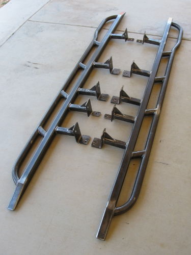 Toyota Tundra 2000-2006 Rock Sliders - White Knuckle Off ...