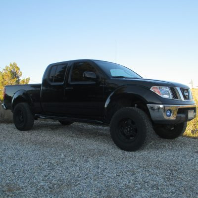 Nissan Frontier White Knuckle Off Road Products