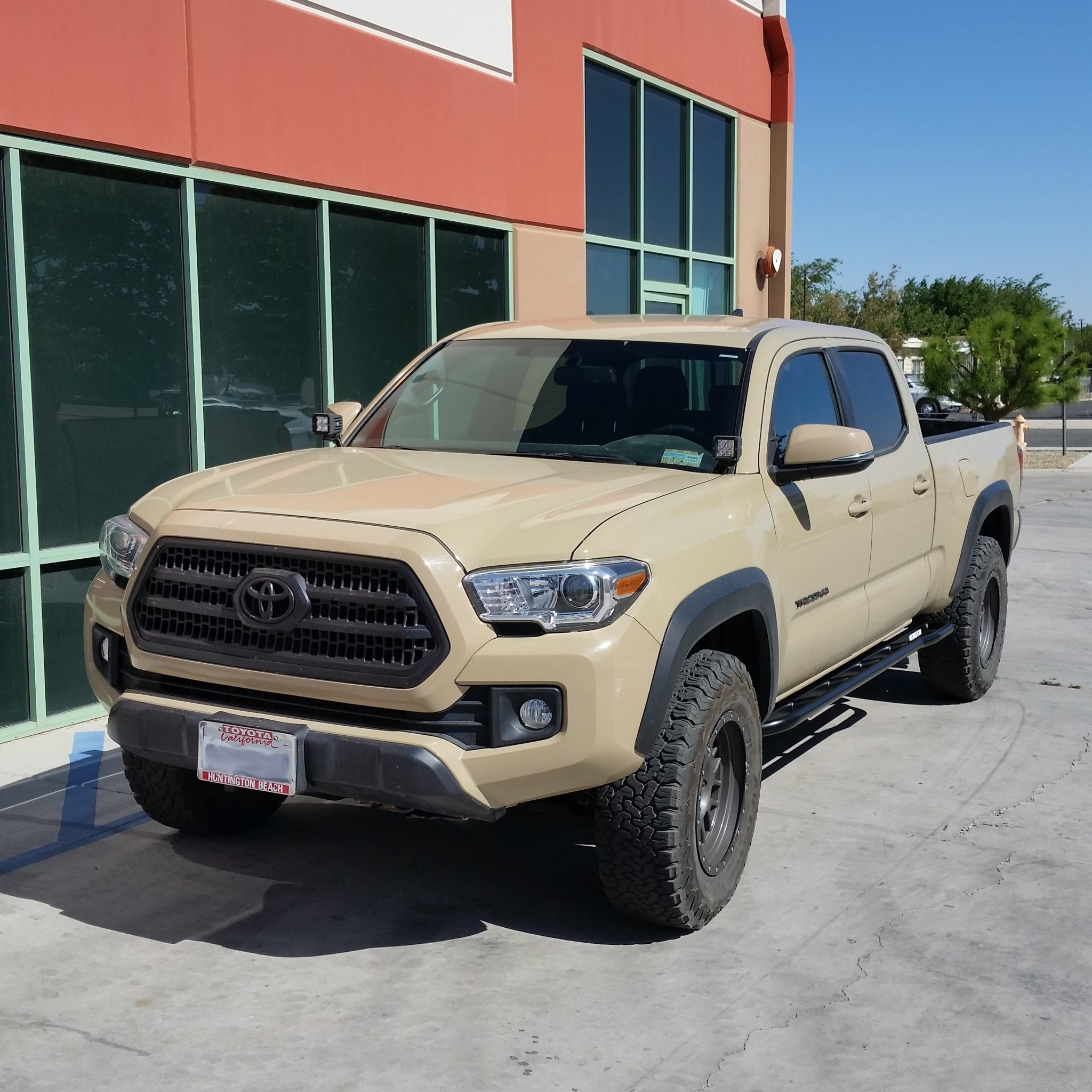 Toyota Tacoma 3rd Gen 2016 2019 Double Cab Long Bed Rock Sliders 2004 Fender Flares